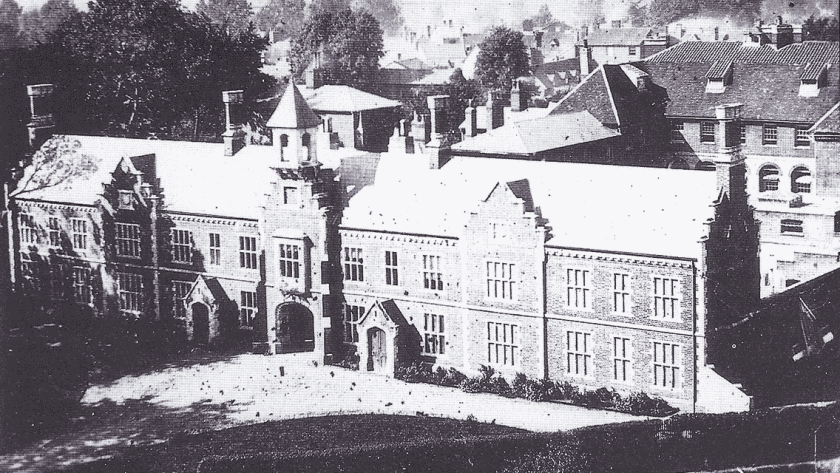 Hartismere Union Workhouse, c.1880. Photo: Workhouse.
