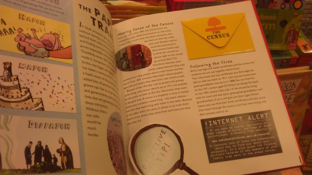 inside the Be A Family Detective book