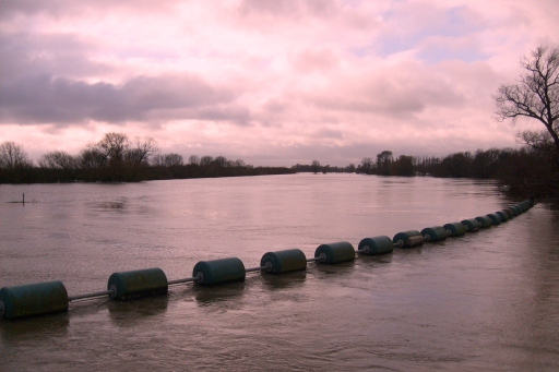 Flooding in Earit, Cambridgeshire in 2012