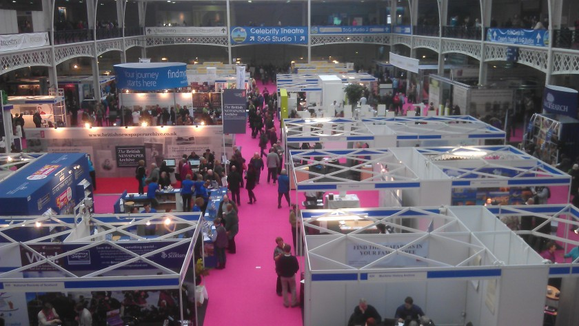 View across stands at WDYTYA Live 2013