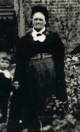Caroline Coe (formerly Howlett, née Clark) - my Great x3 Grandmother c.1911.