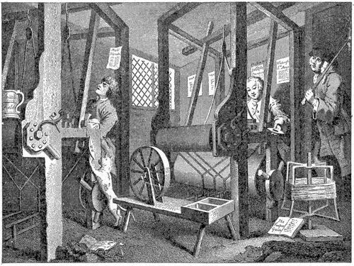 By Hogarth (The Industrious and the Lazy Apprentice) [Public domain], via Wikimedia Commons
