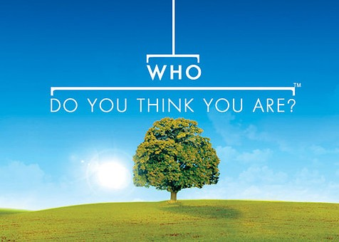 Logo from BBC's UK series of Who Do You Think You Are?