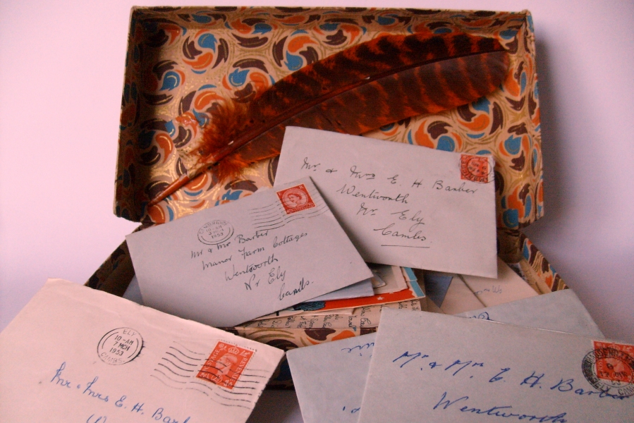 Box of letters