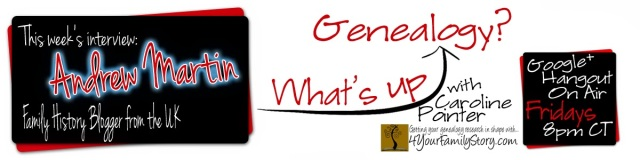 What's Up Genealogy? advert