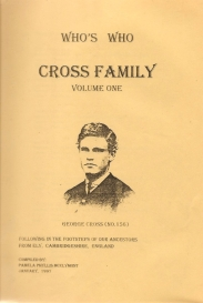 Who's Who Cross Family Vol 1 - Pamela McClymont