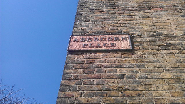 Abercorn Place sign