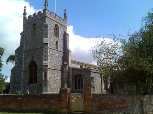 Barkway parish church, Hertfordshire