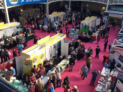The Family History Society stands on Day 3 of WDYTYA? Live 2014