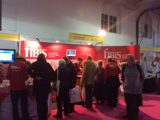 FIBIS stand at day one of Who Do You Think You Are? Live 2014