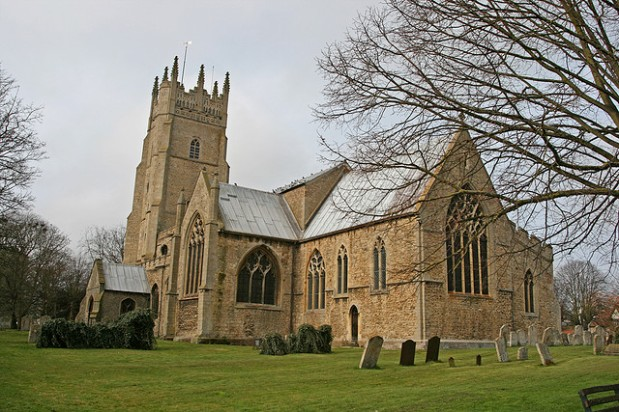 Soham St Andrew's, Cambridgeshire. Photo: Steve Day via CreativeCommons.