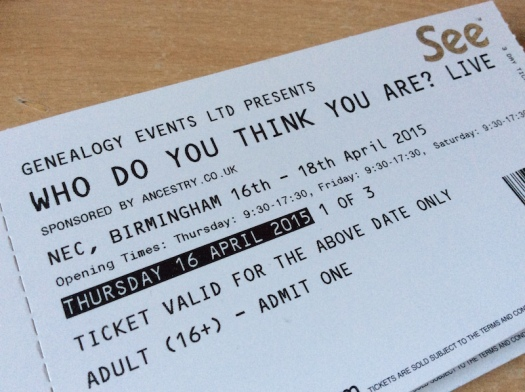 Who Do You Think You Are? Live 2015 tickets arrive