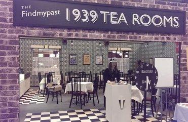 The FindMyPast 1939 Tea Room