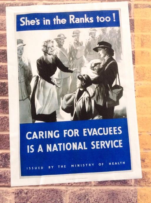 Evacuees poster