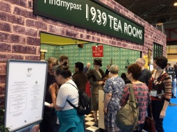 The 1939 Tea Room was a big hit