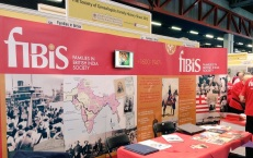 FIBIS had a large stand this year