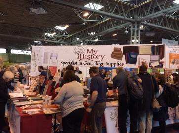 The My History stand