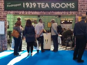 FindMyPast 1939 tea room