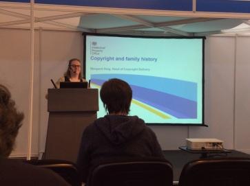 Margaret Haig talks copyright and family history
