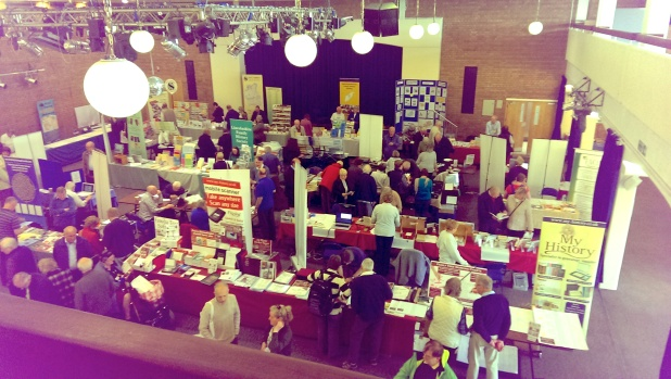 Stands at The Big Family History Fair 2015