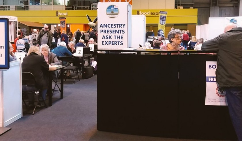 Ask the Experts - kind of like speed dating for genealogy answers.