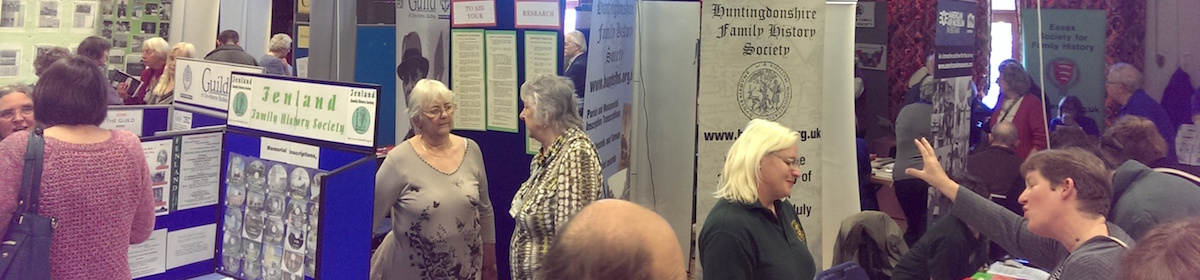 Cambridgeshire Family and Local History Fair 2016