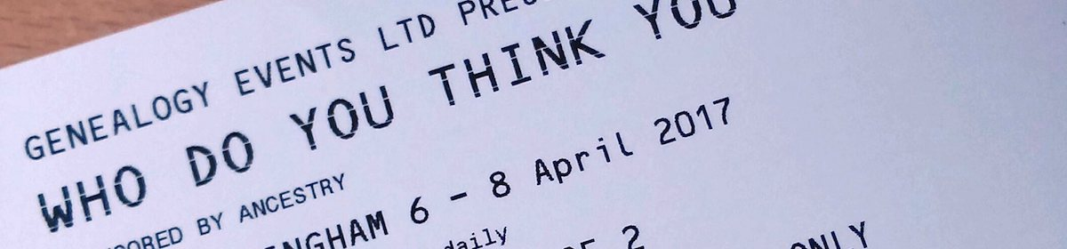 My Who Do You Think You Are? Live 2017 ticketsarrive