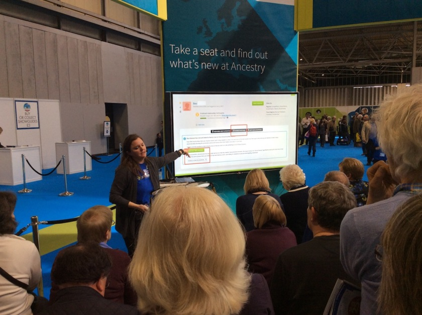 AncestryDNA talk at WDYTYALive 2017