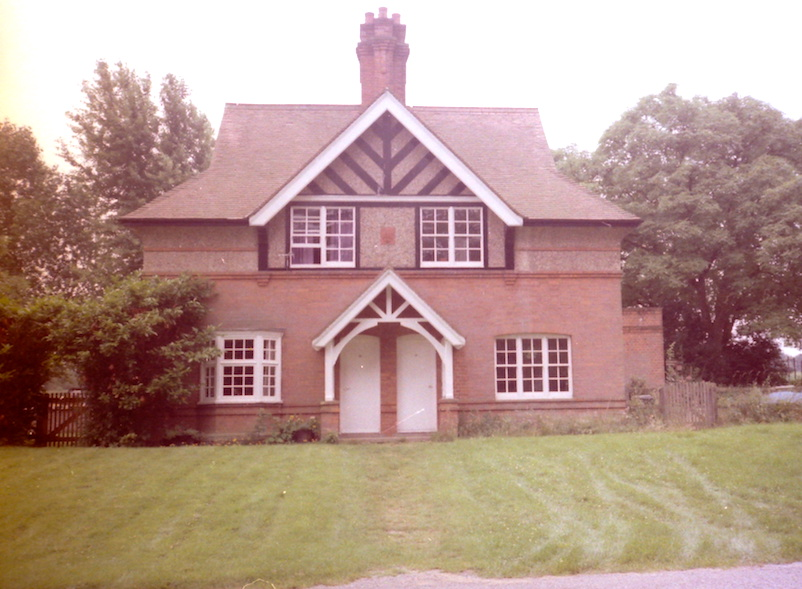 red brick gatehouse at Elveden