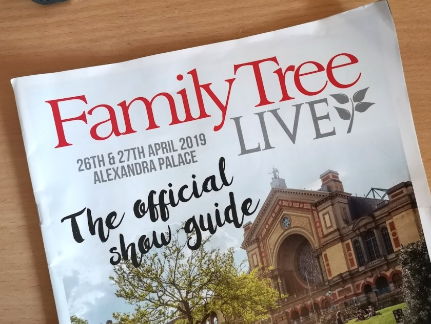 Family Tree Live showguide 2019