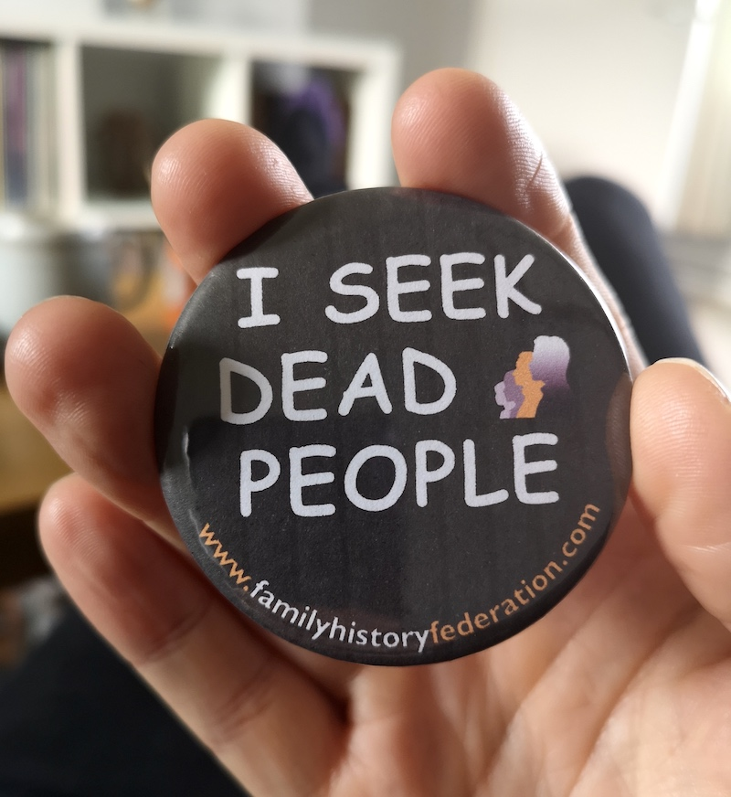 i seek dead people badge