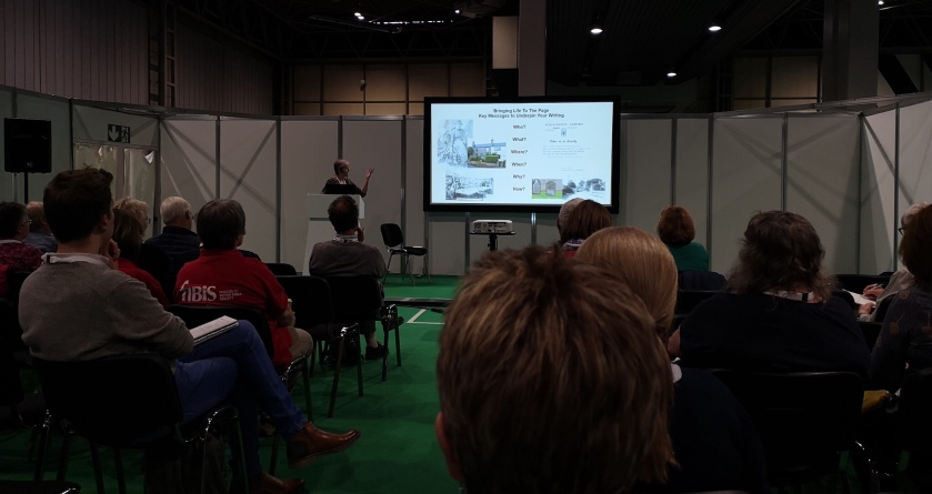 Gill Blanchard at The Genealogy Show