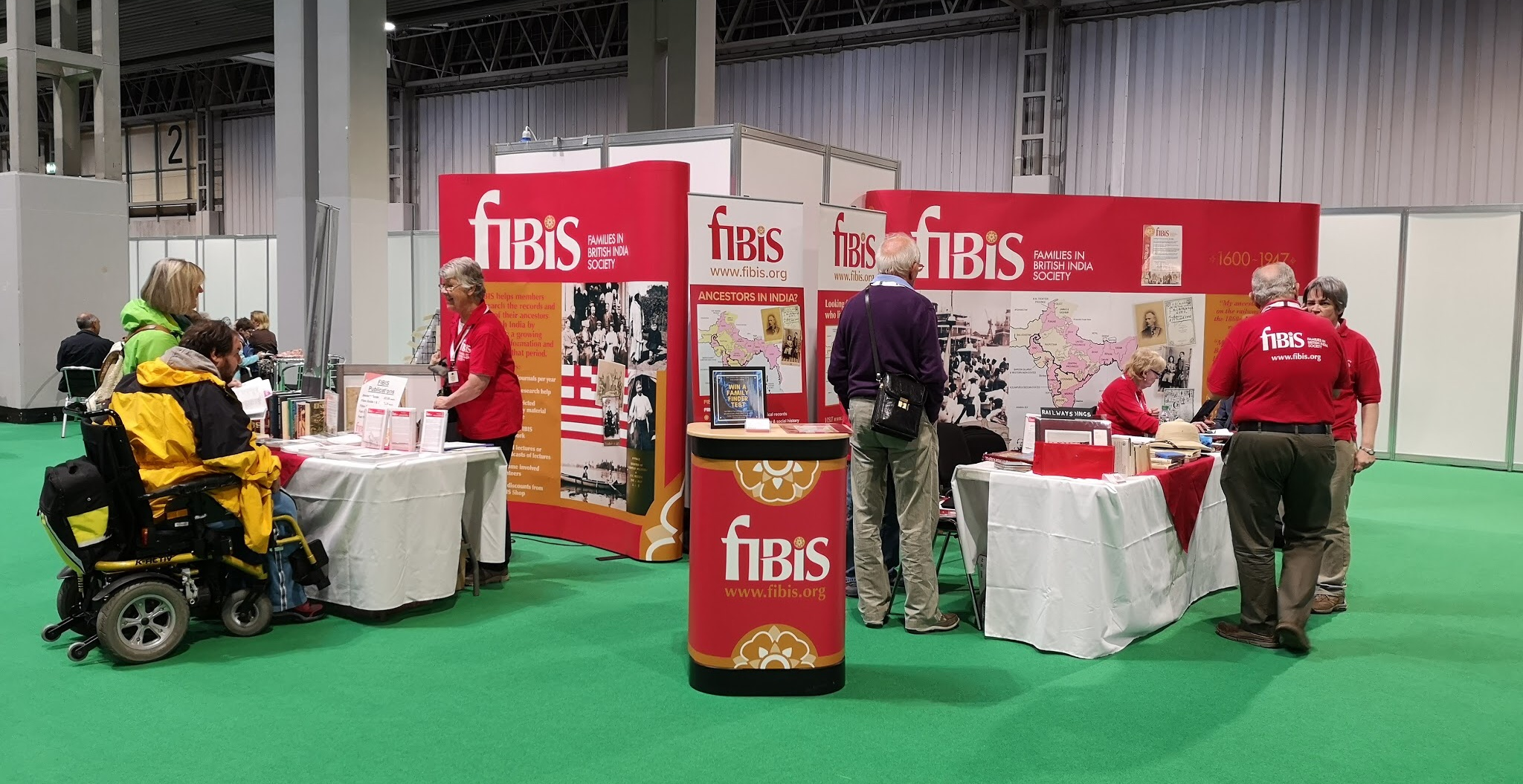 The FIBIS stand