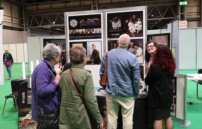 The Photo Alchemist at The Genealogy Show