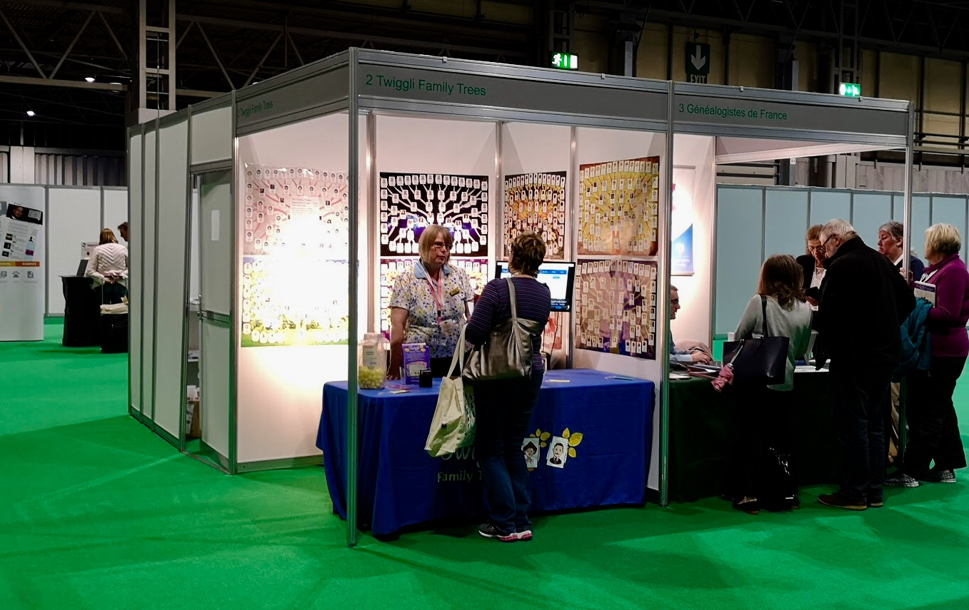 The Twiggli Trees show stand